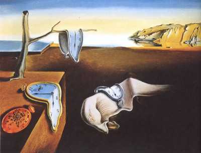 "Dali's ""The Persistence Of Memory."""