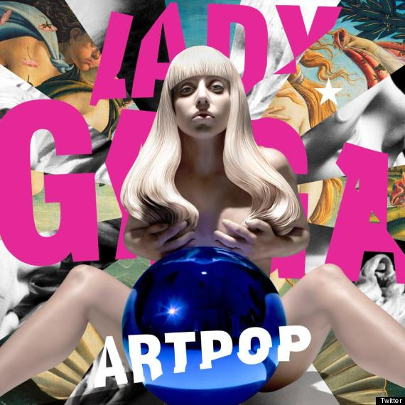 Artist Jeff Koons has created a 'sculpture' of Lady Gaga that will appear  on the cover of her new and third album, ARTPOP.